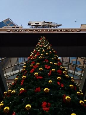 Christmas mood everywhere - UB City