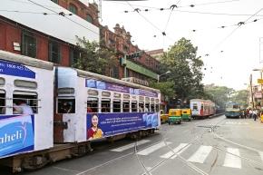 Trams Photos in Kolkata, India