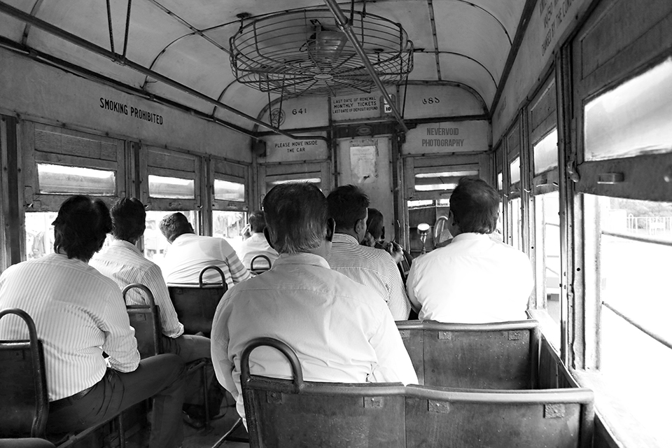 Tram ride - Kolkata