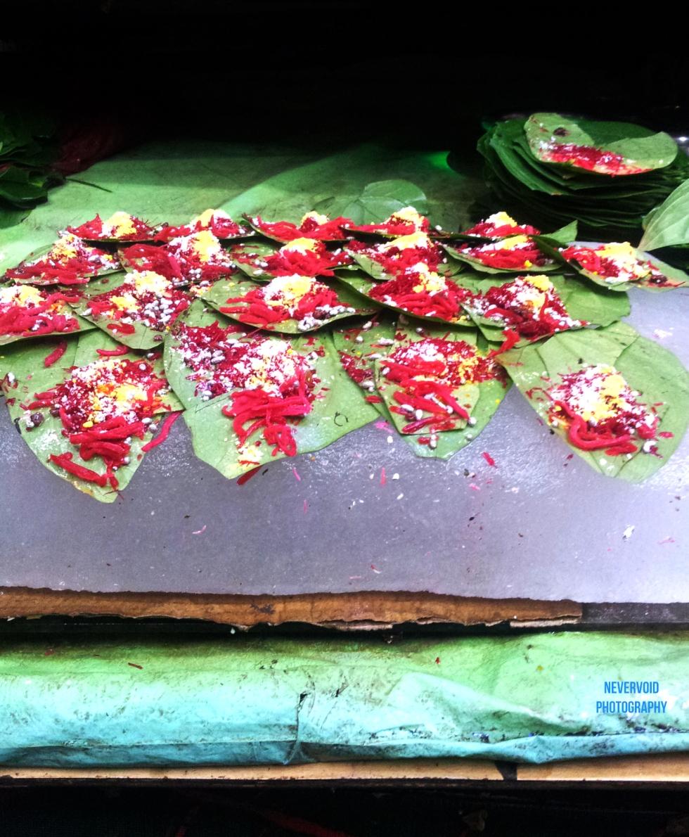 Fresh Paan on Kolkata streets